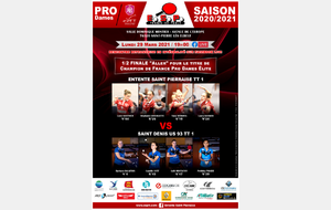 J-7 : Pro Dames 1/2 finale du top Four